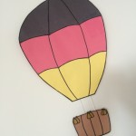 Look for this hot-air balloon by the German Lunch Table