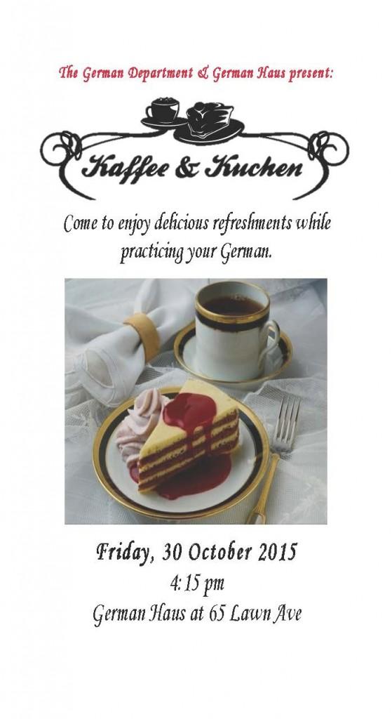 Kaffee und Kuchen_October 30