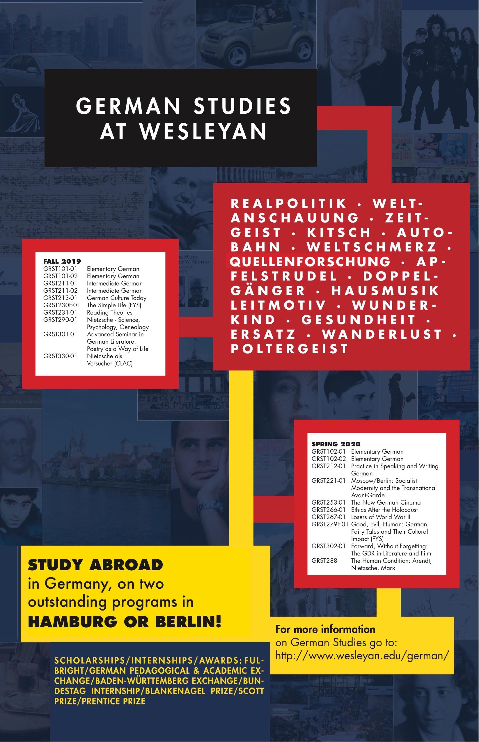 German News – German Studies Department at Wesleyan University